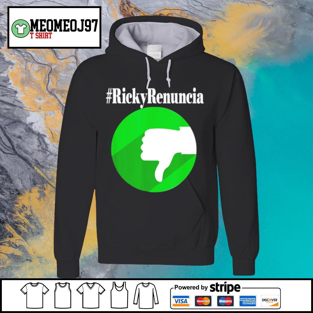 #rickyrenuncia Hashtag Ricky Renuncia Puerto Rico Politics s Hoodie