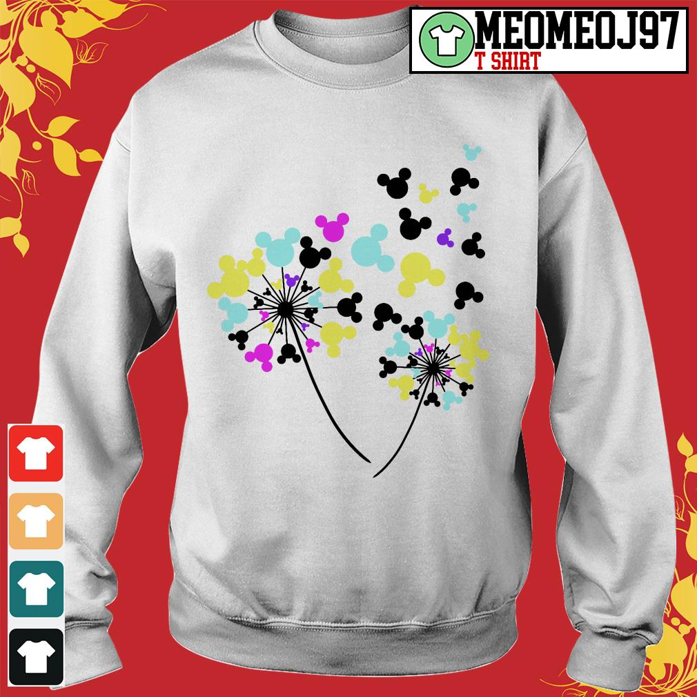 Disney flowers Mickey Mouse Sweater