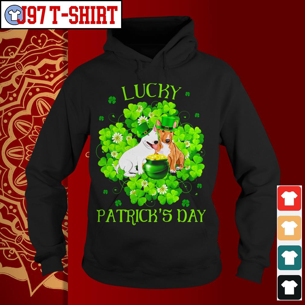 Lucky dog Patrick's day Hoodie