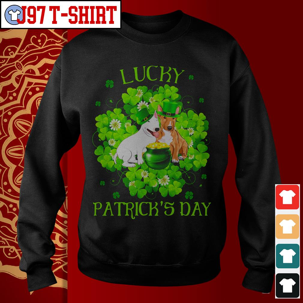 Lucky dog Patrick's day Sweater