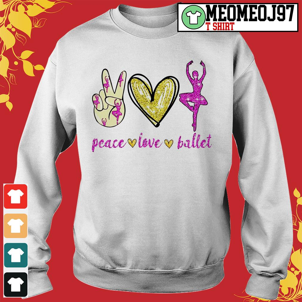 Peace love ballet Sweater