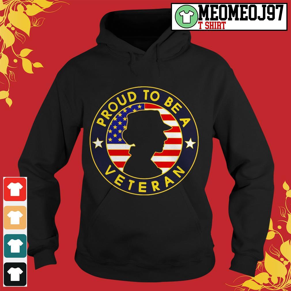 Proud to be a Veteran women's America Hoodie